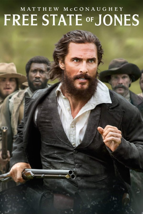 FREE STATE of JONES-a 5-Star Production in every sense of the word-2016.
