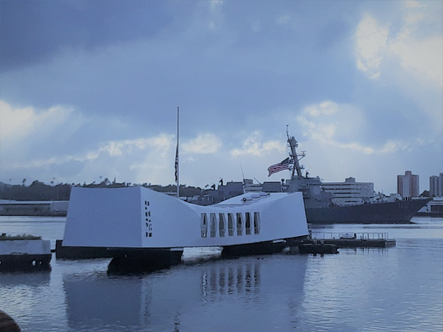 Pearl Harbor-December 7th, 1941 to December 7th, 2018-77th Anniversary Memorial Services.