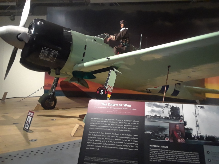 Tora! Tora! Tora!  The Aviation Museum at Pearl Harbor in pictures…1-4-2019