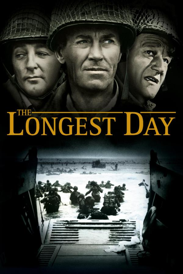 THE LONGEST DAY-an Amazing WWII Military Movie!